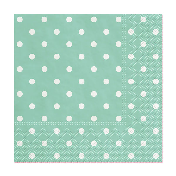 Cocktail Mini Dot Napkins