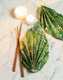 Luncheon Tropical Leaves Napkin