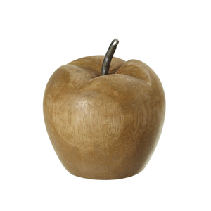Mango-Wood Carved Apple