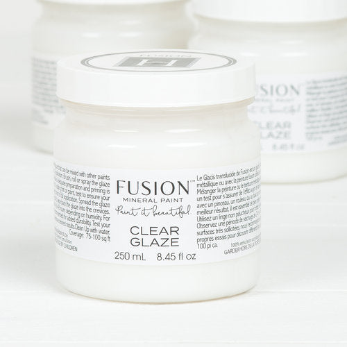 Clear Glaze Fusion Mineral Paint