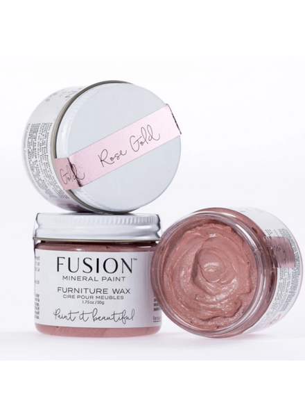 Rose Gold Furniture Wax Fusion Mineral Paint