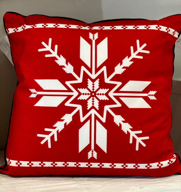 Stay Cozy Snowflake Cushion