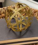 Gold Weave Ball