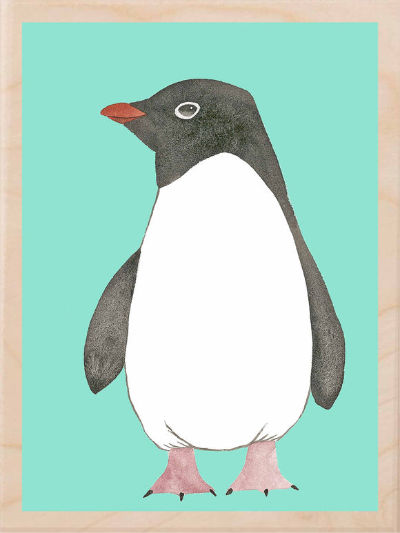 ADELIE PENGUIN WALL ART