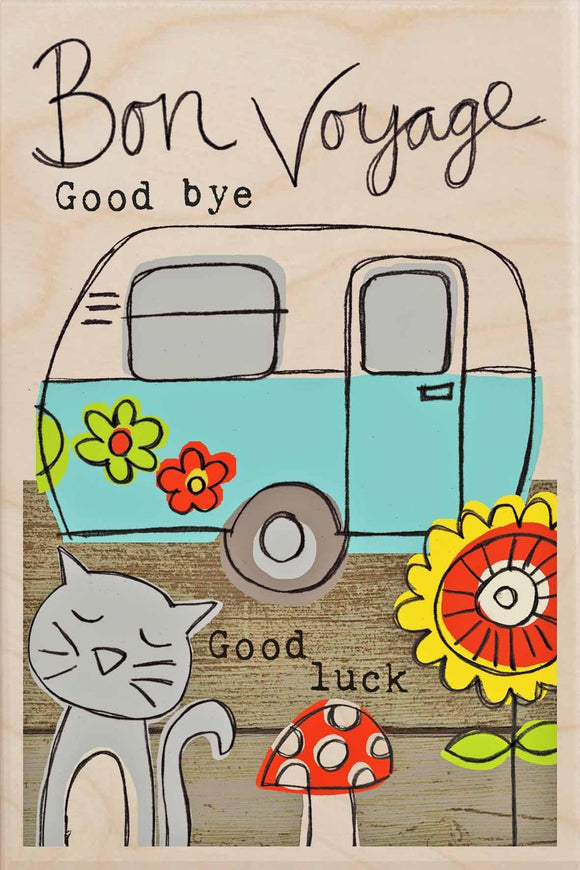 BON VOYAGE, GOODBYE, GOOD LUCK