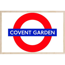 Load image into Gallery viewer, COVENT GARDEN-[wooden_postcard]-[london_transport_museum]-[original_illustration]THE WOODEN POSTCARD COMPANY