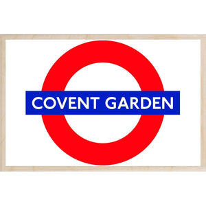 COVENT GARDEN-[wooden_postcard]-[london_transport_museum]-[original_illustration]THE WOODEN POSTCARD COMPANY