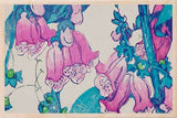 FOXGLOVES-[national_galleries]-[Scotland]-[wooden_postcard]THE WOODEN POSTCARD COMPANY