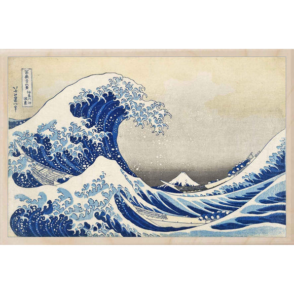 HOKUSAI, GREAT WAVE