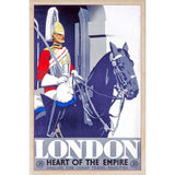 LONDON HEART OF THE EMPIRE-[wooden_postcard]-[london_transport_museum]-[original_illustration]THE WOODEN POSTCARD COMPANY