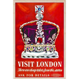 LONDON TREASURE-[wooden_postcard]-[london_transport_museum]-[original_illustration]THE WOODEN POSTCARD COMPANY