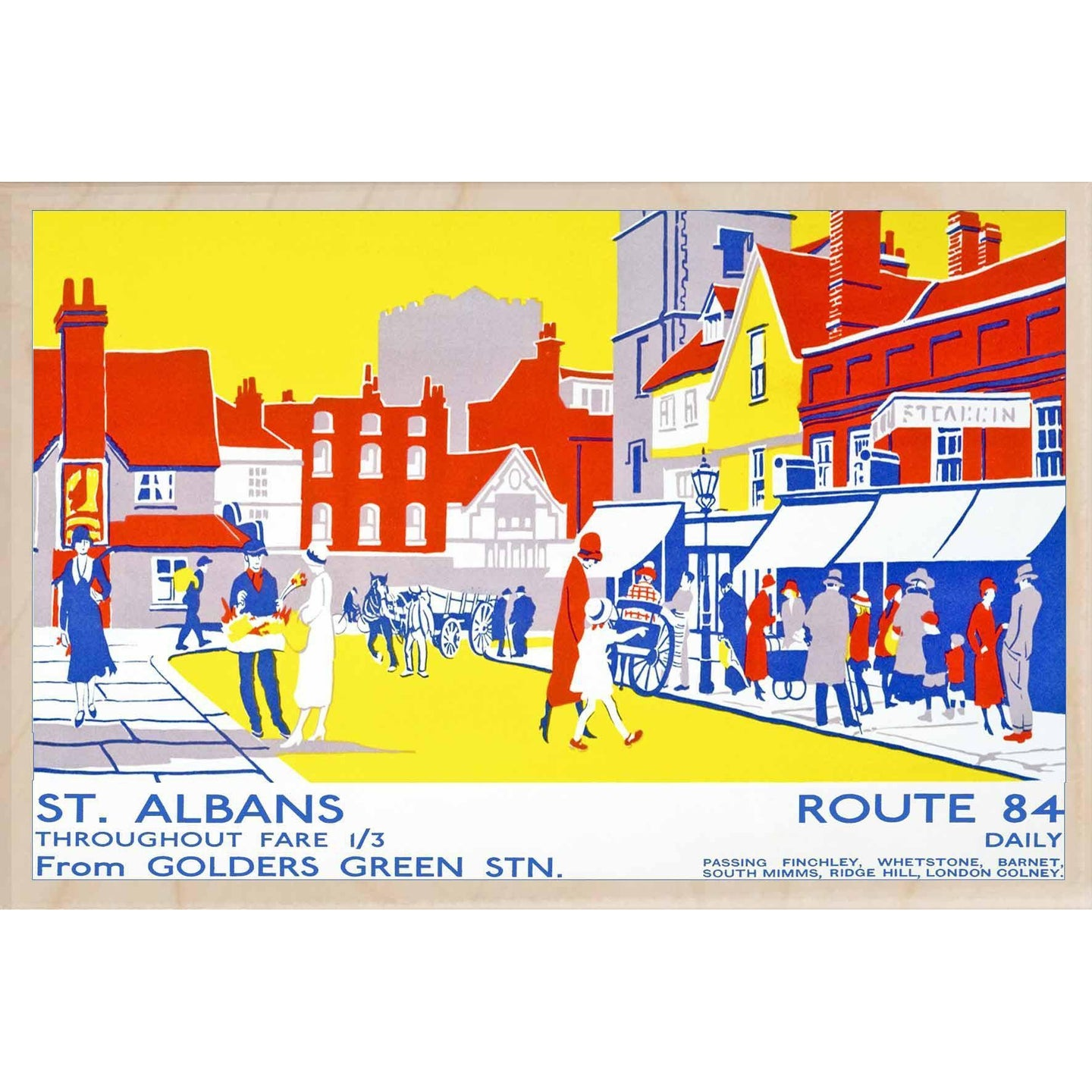 ST ALBANS HIGH STREET