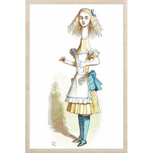 Load image into Gallery viewer, wooden_postcard]TALL ALICE-THE WOODEN POSTCARD COMPANY-[made_in_great_britain]