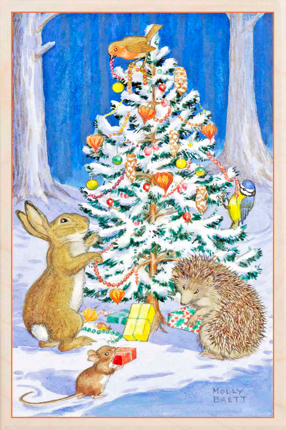 CHRISTMAS TREE ANIMALS