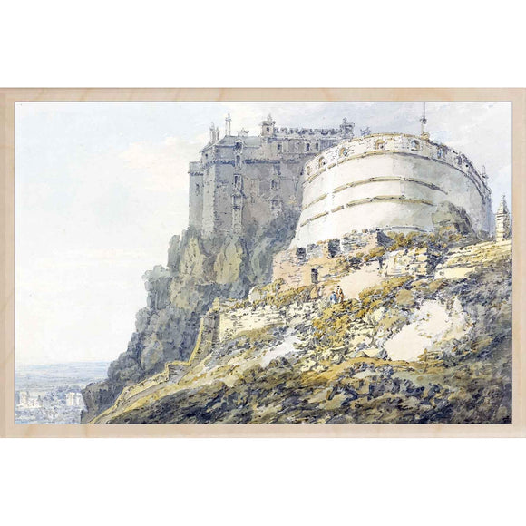 TURNER, EDINBURGH CASTLE
