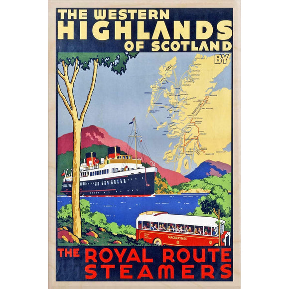 WEST HIGHLANDS STEAMERS