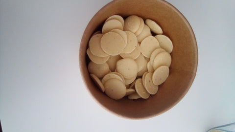 White Chocolate and Vanilla Buttons