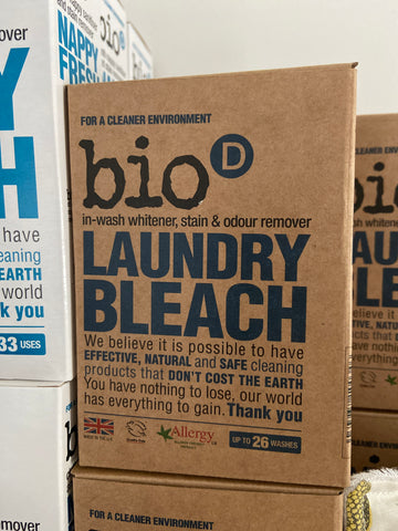 Box of Laundry Bleach