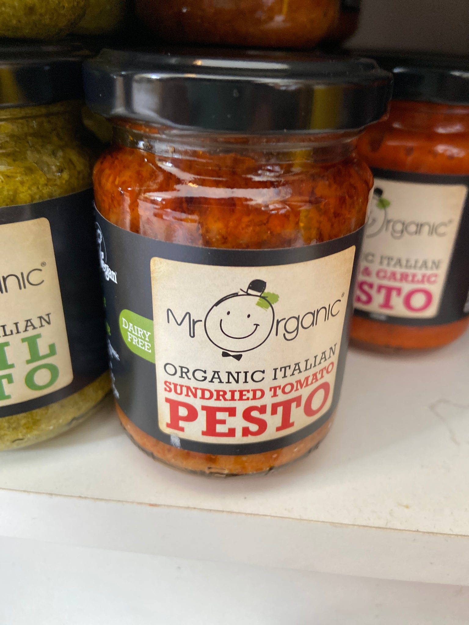 Sun dried Tomato Vegan Pesto