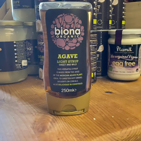 Agave syrup light