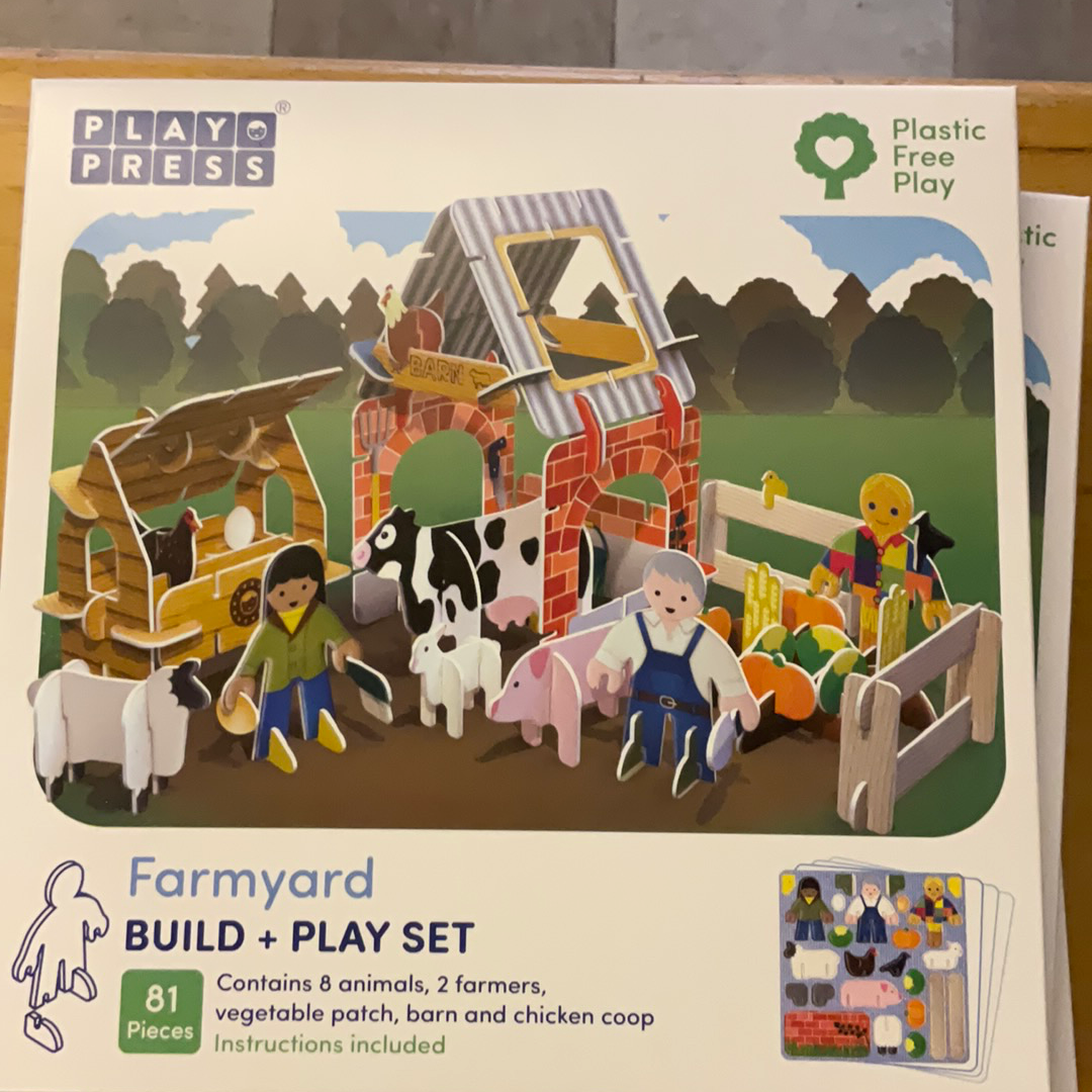 Play and Press Farmyard