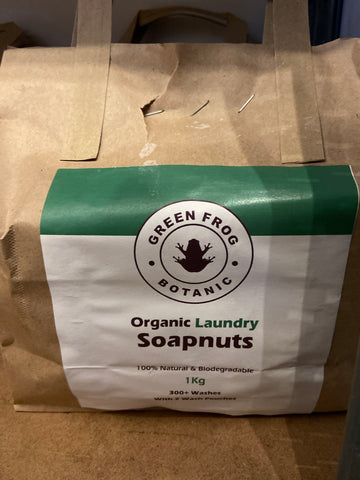 Soap Nuts - Green Frog
