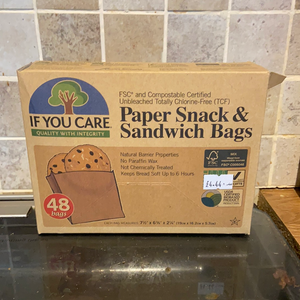 Paper Sandwich and Snack Bags