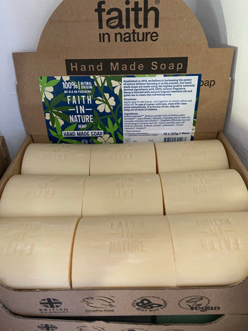 Hemp, Lemongrass and Green Tea Soap