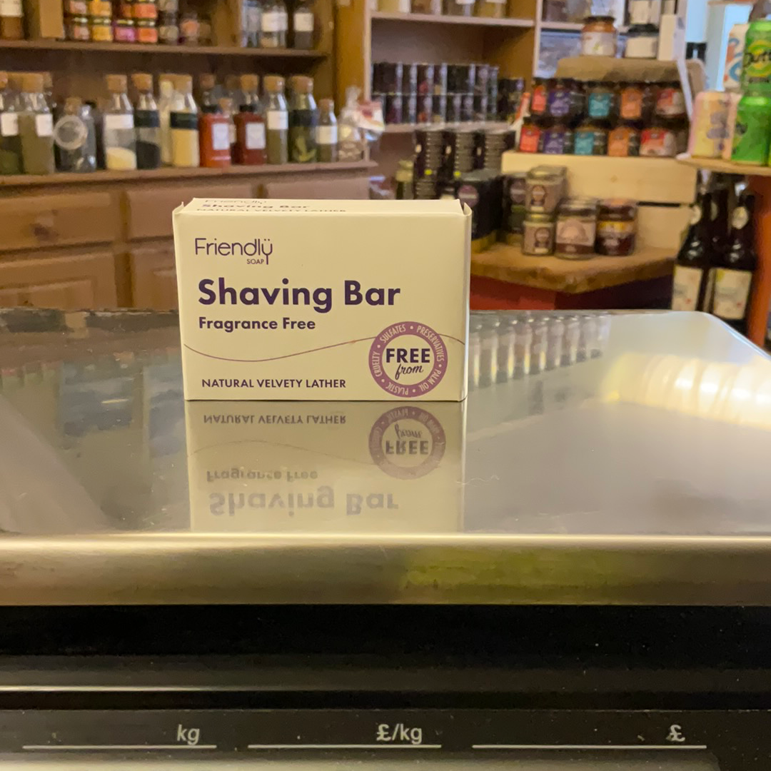 Friendly Soap - shaving bar Fragrance Free