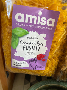 Gluten Free Corn and Rice Fusilli