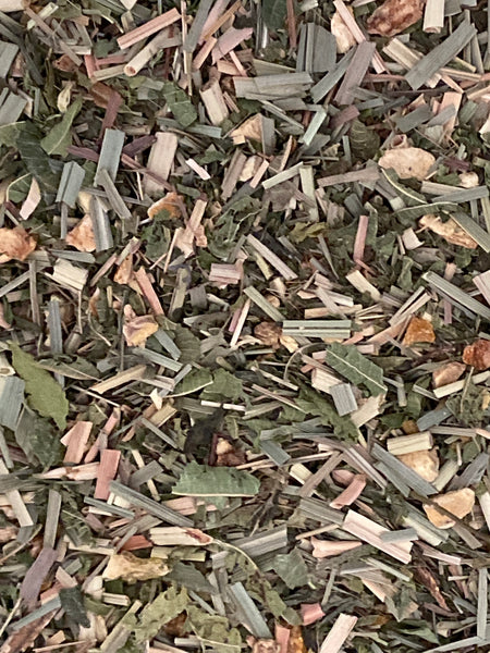 Morgan's Brew Lemongrass and Ginger Loose Leaf Tea