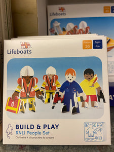 Play Press Eco Friendly RNLI Character Set