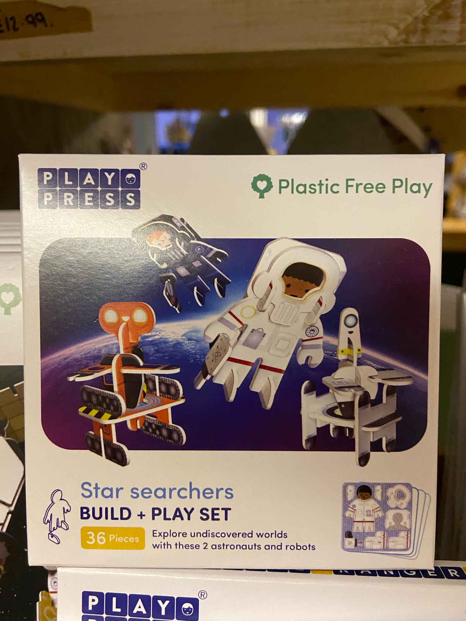 Play Press Eco Friendly Space Character Set