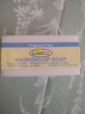LoofCo Washing-Up Soap Bar - Fragrance Free