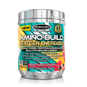 AMINO BUILD NEXT GEN ENERGIZED FRUIT PUNCHSLPASH 30 SERV (284GR)