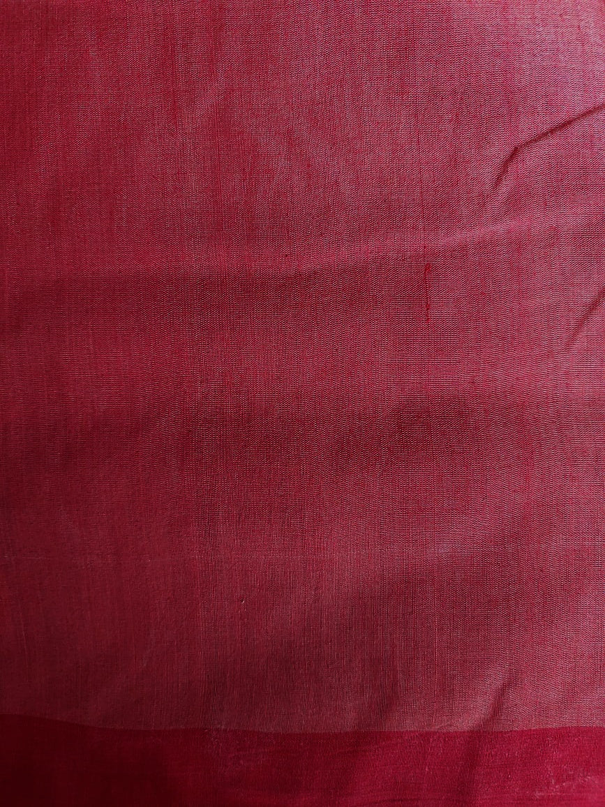 NUAPATNA COTTON - BEIGE & RED