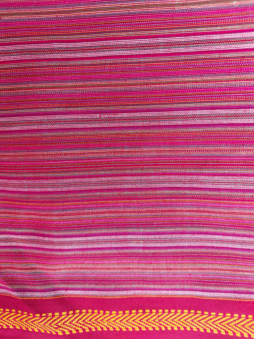 MAHESHWARI COTTON - MAROON CHECKS 2