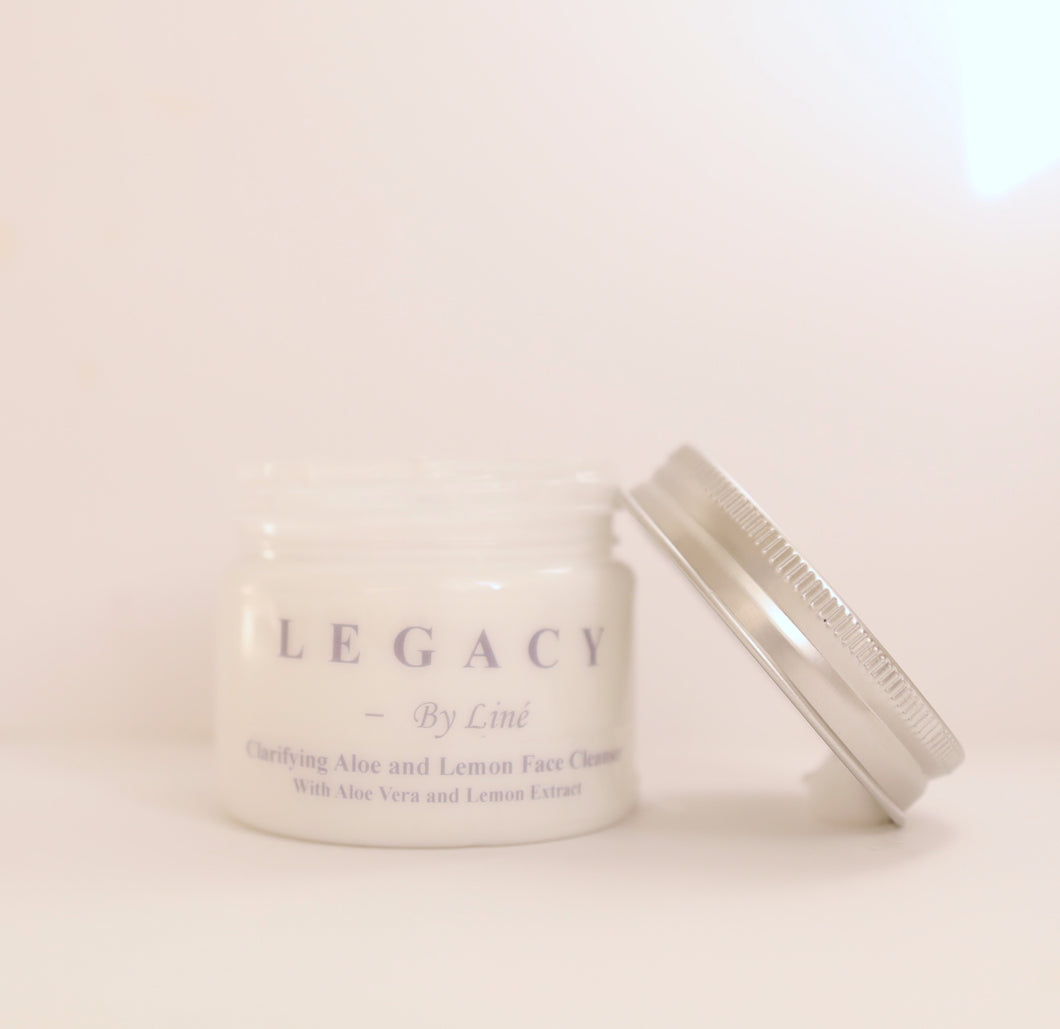 Legacy's Clarifying Aloe and Lemon Face Cleanser - 5.07 fl oz / 150 ml