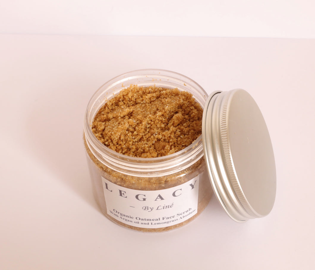 Organic Oatmeal Face Scrub - 6.7 fl oz / 200 ml