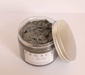 Activated Charcoal Body Scrub - 10.14 fl oz / 300 ml