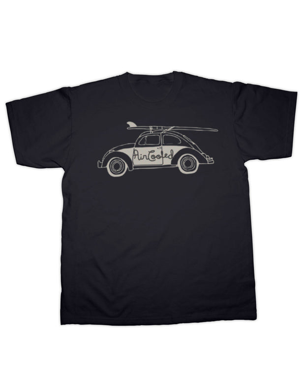 Air Cooled Beetle Surfs Up! T Shirt