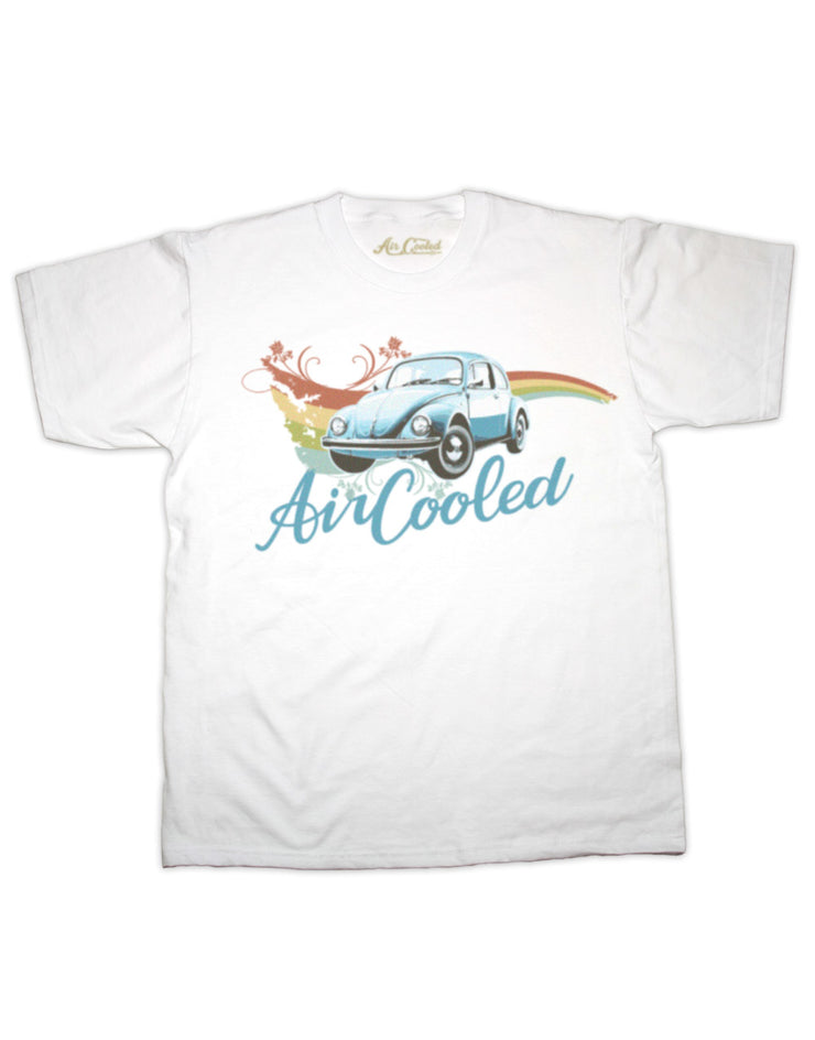 Air Cooled Beetle Swirl T Shirt