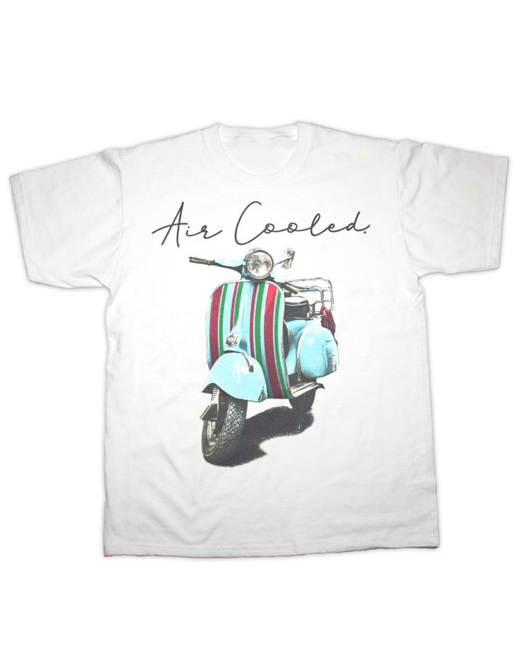 Air Cooled Scooter Stripes T Shirt