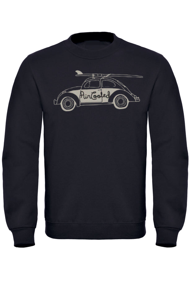 Air Cooled Beetle Surfs Up! Sweatshirt