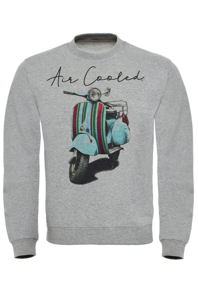 Air Cooled Scooter Stripes Sweatshirt