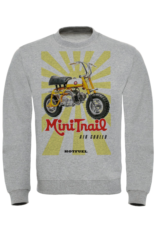 Mini Trail Print Sweatshirt