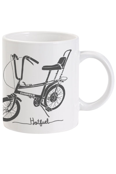 Hotfuel Chopper Cycle Print Ceramic Mug