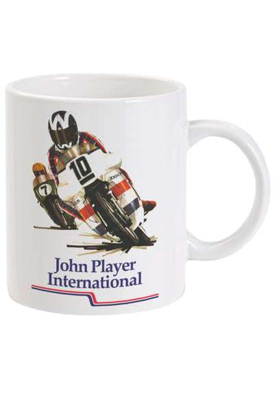 John Player International Bike Ceramic Mug
