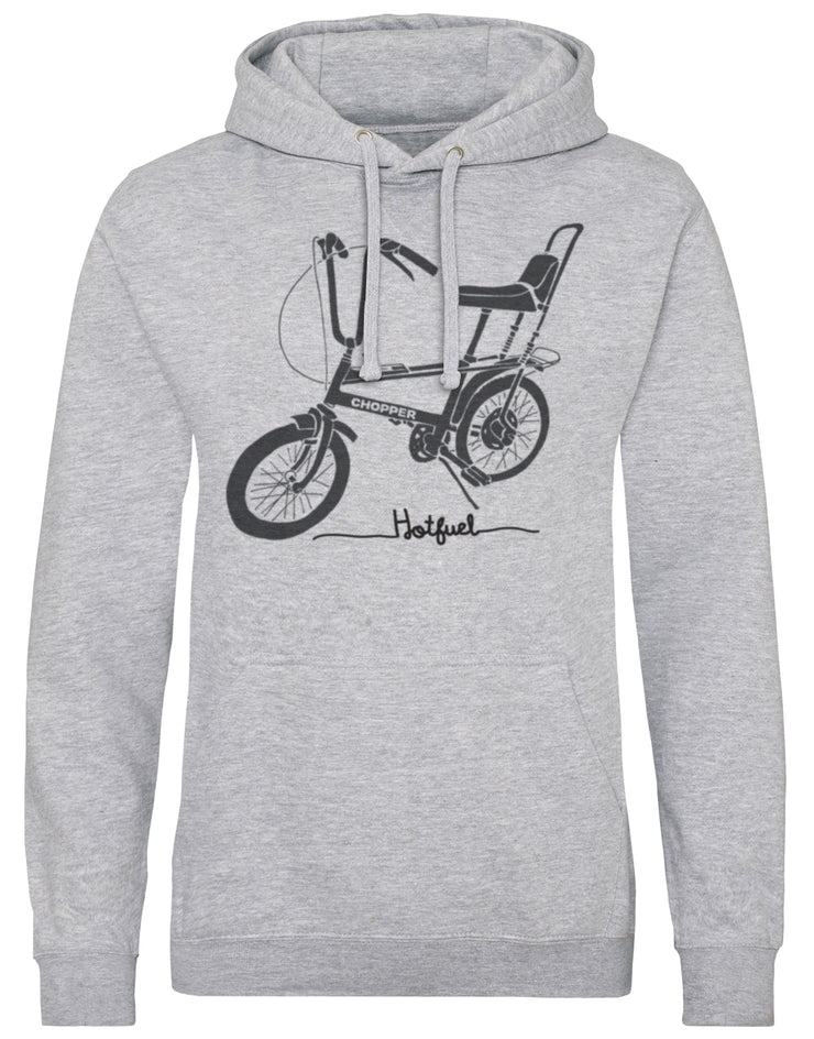 Hotfuel Chopper Cycle Print Hoodie