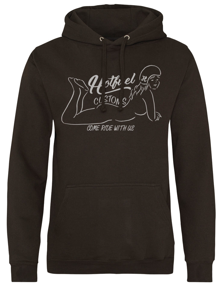 Hotfuel Customs Come Ride Hoodie